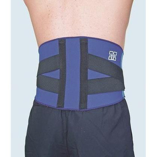 Madison Back Adjustable Support - Blue - Sports Grade