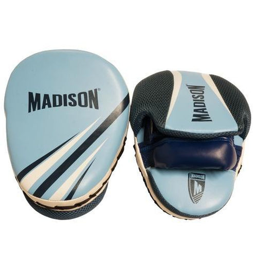 Madison Galaxy Focus Mitts - Blue Boxing - Sports Grade