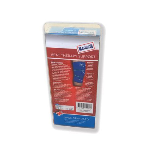 Madison Knee Standard Heat Therapy - Blue - Sports Grade