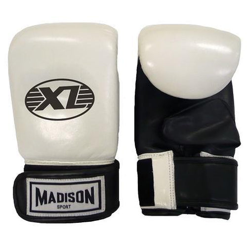Madison XL Bag Mitts - White Boxing - Sports Grade