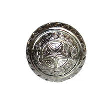 "Load image into Gallery viewer, 1-1/2"" LONE STAR LAUREL KNOB-SATIN NICKEL"
