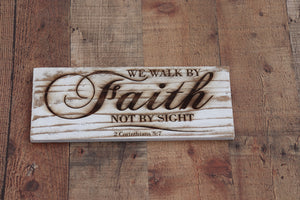 ENGRAVED ON PLANK- 2 CORINTHIANS 5:7