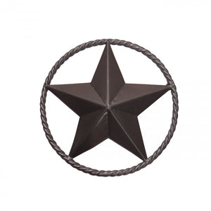 "12"" STEEL STAR W/RING - PEWTER"