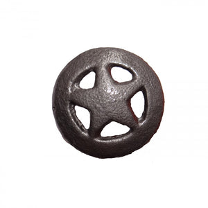 "2-1/2"" STAR PULL KNOBS - PEWTER"