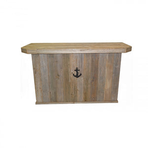 OUTDOOR BAR - DOUBLE - SEA ANCHOR - BLACK