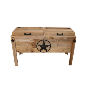 Double Cooler with Steel Star with Rope