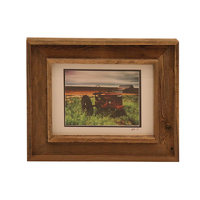 Load image into Gallery viewer, Wooden Double Frame Matte Image Tractor