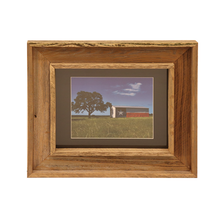 Load image into Gallery viewer, Wooden Double Frame Matte TX Barn