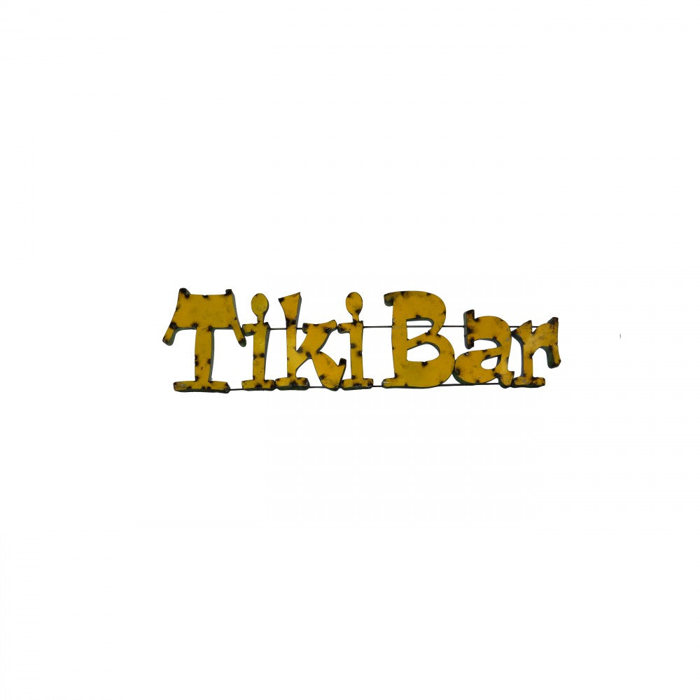 TIKI BAR--METAL SIGN