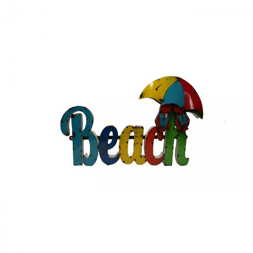 BEACH--METAL SIGN(UMBRELLA)