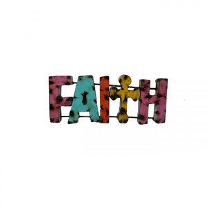 FAITH--METAL SIGN