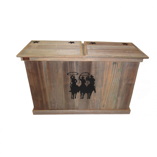 Trash Can - Double - Tres Hombres - Black