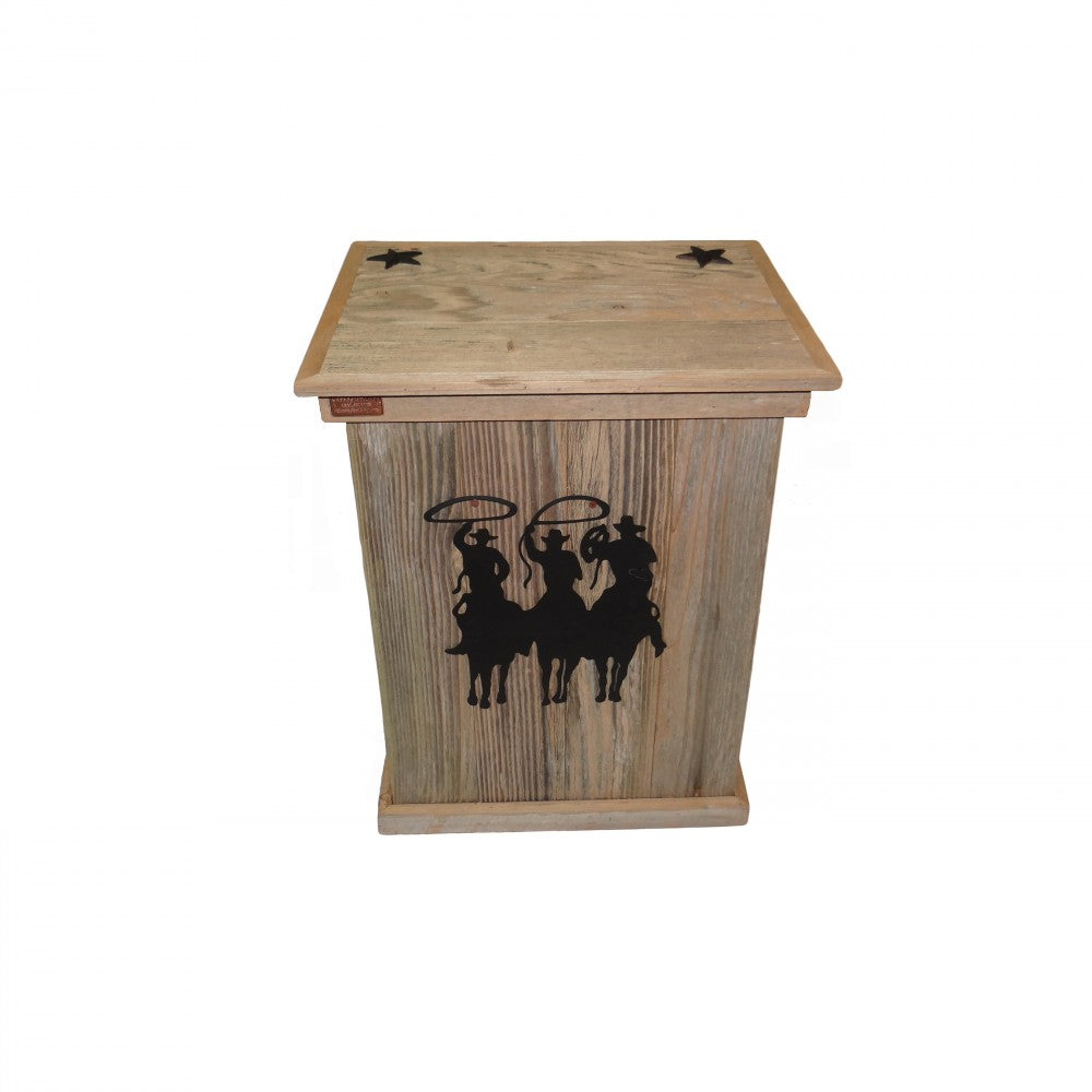 Trash Can - Single -Tres Hombres - Black