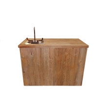 Load image into Gallery viewer, WET BAR - DOUBLE W/SINK - RUST