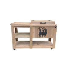 Load image into Gallery viewer, Single Cooler with Table - Tres Hombres - Black
