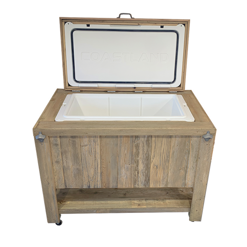 Rustic Single Cooler with 125 Qt Cooler - HRCOCL125001P