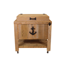 Load image into Gallery viewer, Frio Rustic Coolers - 45 Quart - Sea Anchor - Black