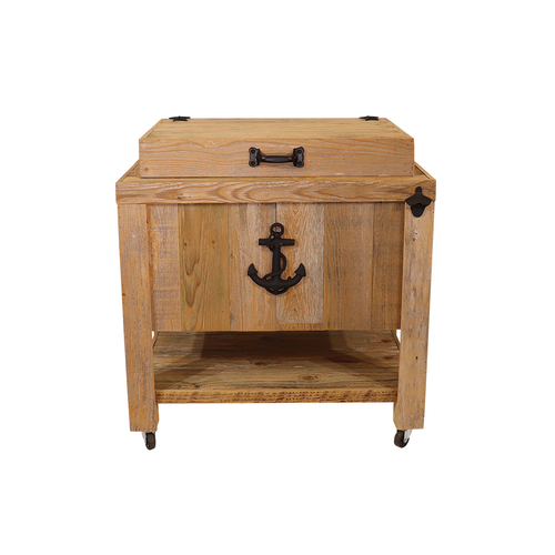 Frio Rustic Coolers - 45 Quart - Sea Anchor - Black
