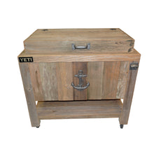 Load image into Gallery viewer, Yeti 65 Rustic Cooler By Haggards Rustic Goods