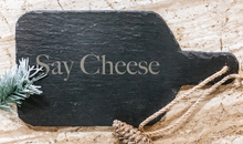 "Load image into Gallery viewer, Paddle Cheese Board - 13 1/2"" x 7"""