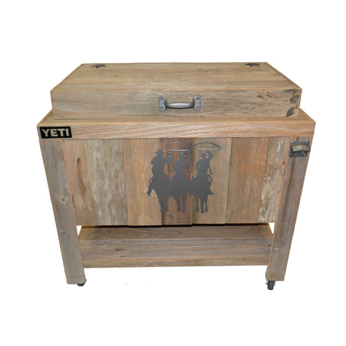 Yeti 65 Rustic Coolers by Haggards Rustic Goods