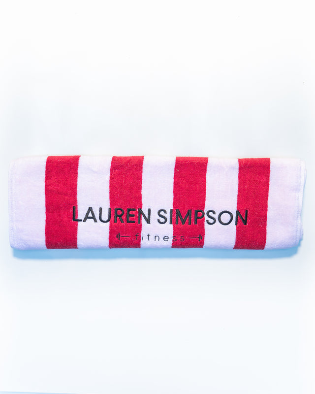 Lauren's EVERYDAY WORKOUT TOWEL AU/NZ