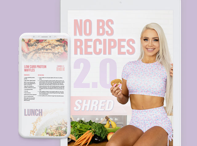 NO BS Recipes 2.0 - Shred