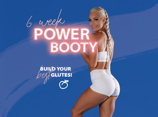POWER BOOTY 1.0 HOME & GYM PROGRAM (PDF Only)