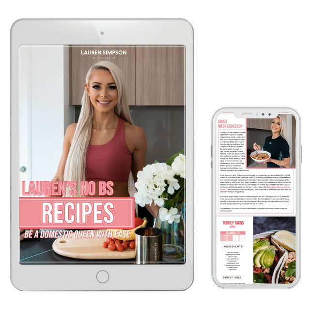 Lauren's NO BS Recipes