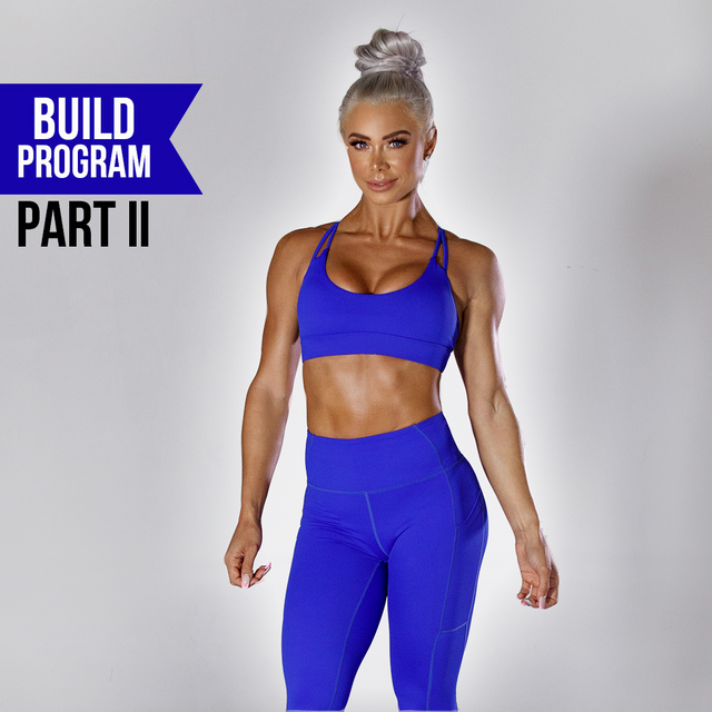 8 WEEK BUILD PROGRAM PHASE 2