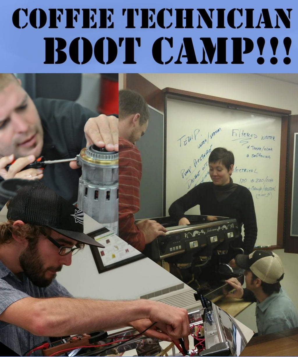 Coffee Technicians Bootcamp