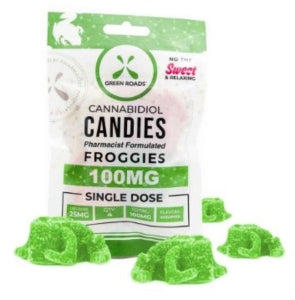 Green Roads Froggies - Grab N Go - (100MG)