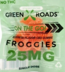 Green Roads Froggies - Grab N Go - (25MG)