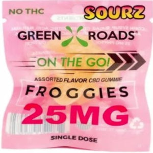 Green Roads 25MG On the Go Sourz Froggie