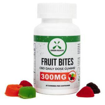 Green Roads 300 MG CBD Fruit Bites