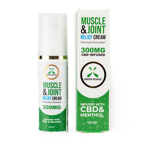 Green Roads Muscle & Joint Cream - (300MG)