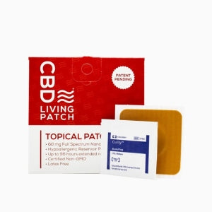 CBD Living Topical Patch (60mg CBD)
