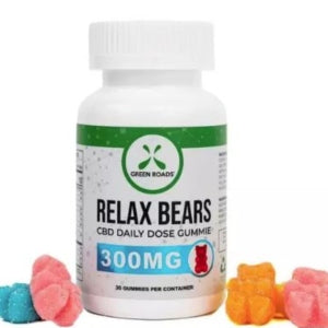 Green Roads 300MG Relax Gummies