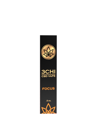 "3 Chi - ""Focus"" CBD Disposable Vape Pen (500mg)"