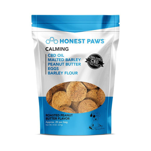 Honest Paws CBD Treats - Calming - (100mg CBD)