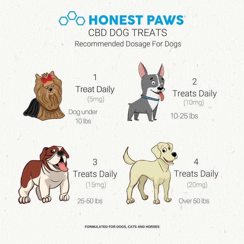 Honest Paws CBD Treats - Pain Relief - (100mg CBD)