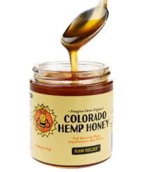 Colorado Hemp Honey - Lemon Stress Less (500mg CBD)