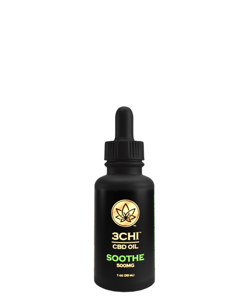 "3 Chi - ""Soothe"" CBD Oil (500mg)"