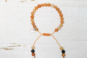 Orange Jasper Handcrafted Beaded Jewelry