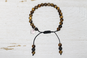 Tiger's Eye Handcrafted Beaded Jewelry