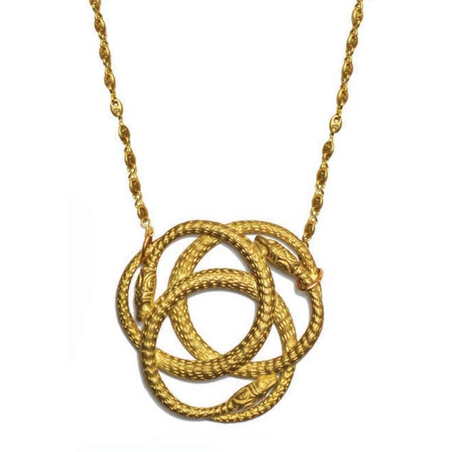 Snake Knot Necklace