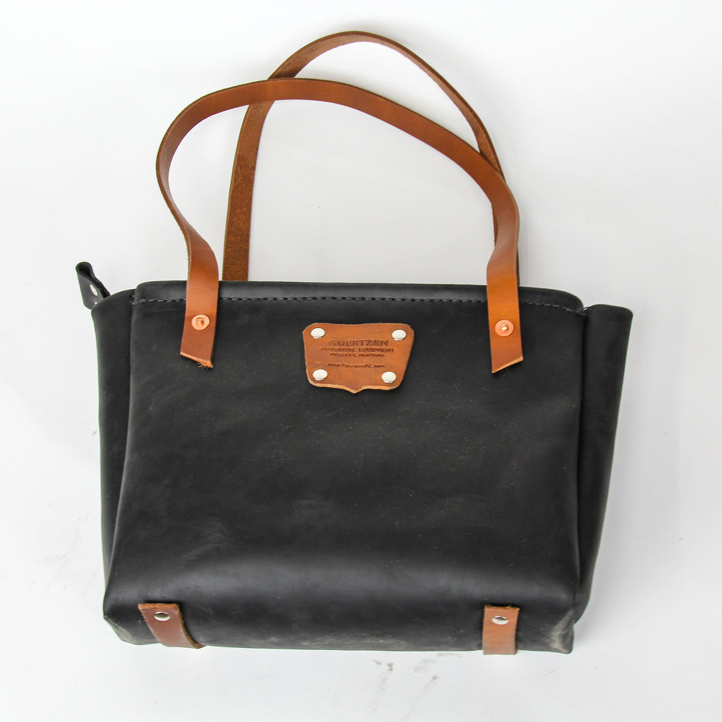 Mini Tote in Black