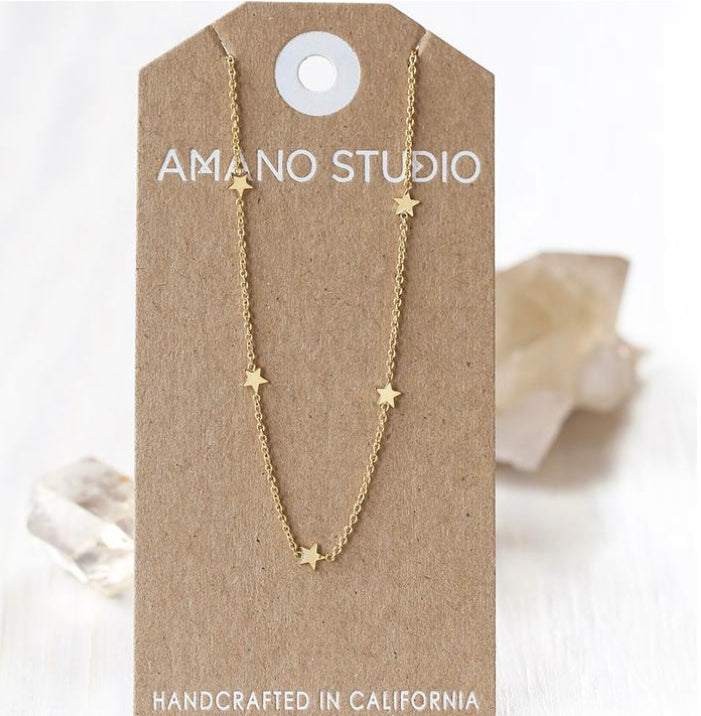 Tiny Star Constellation Necklace