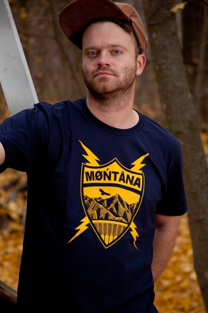 Montana Tee - Men's Coat of Arms