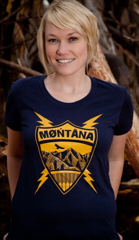 Montana Tee - Women's Coat of Arms